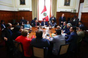 Cuestión de confianza: Junta de Portavoces del Congreso evalúa recurso