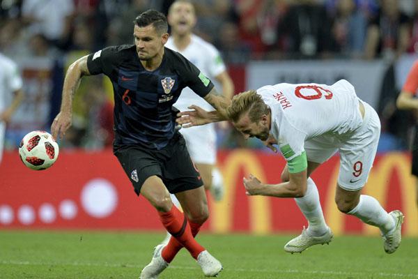 Inglaterra vs. Croacia: Mandzukic clasifica a los balcánicos