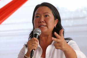 """Keiko Fujimori señala que hay """"un topo en el partido"""""""