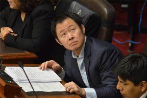 Este mes se sabrá si desafueran a Kenji Fujimori