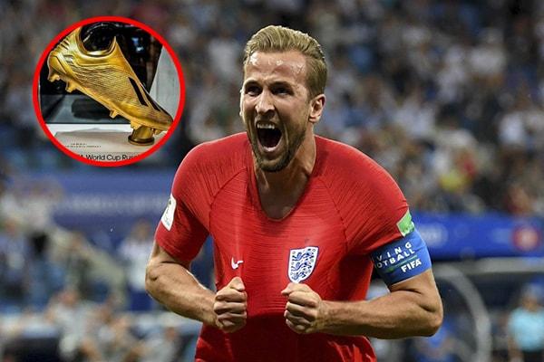 Rusia 2018: El inglés Harry Kane se queda con la Bota de Oro