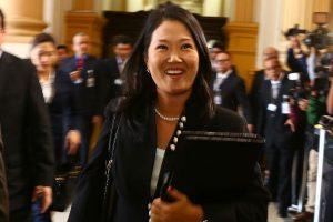 """Keiko Fujimori: """"El tema de fondo es por qué el partido PpK contrató a José Cavassa"""""""