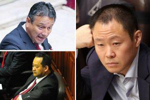 Congreso rechazó reincorporación de Kenji, Bocángel y Ramírez