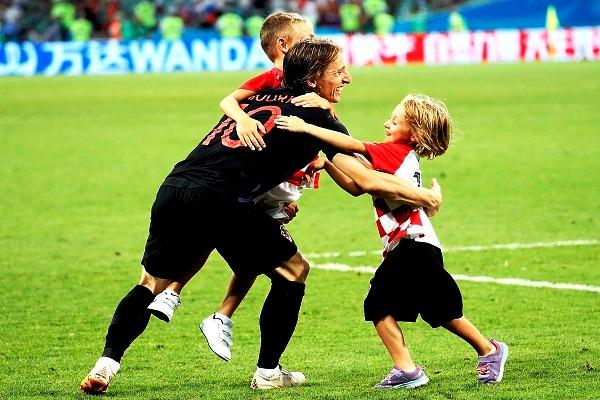 Luka Modric elegido el mejor por tercera vez