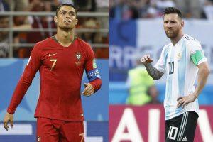 Cristiano Ronaldo y Lionel Messi le dicen adiós al Mundial en el mismo día