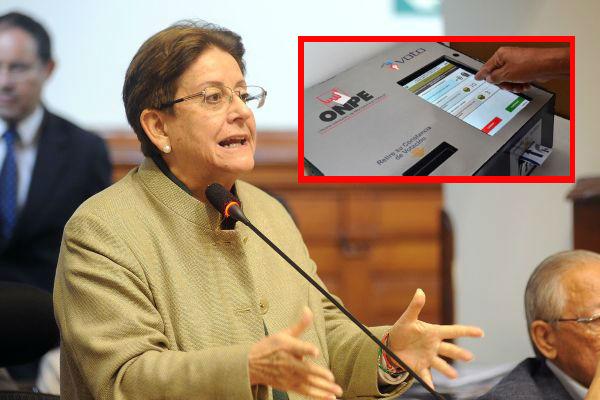 Lourdes Alcorta presenta proyecto para eliminar el voto electrónico
