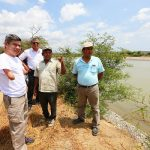 Luis Galarreta visitó zonas afectadas por el fenómeno El Niño Costero