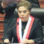 Luz Salgado fue dada de alta y podrá retomar su trabajo parlamentario