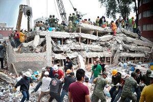 México: Ya son 305 los muertos por terremoto de 7.1°