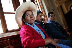 Máxima Acuña demanda al Estado peruano ante la CIDH