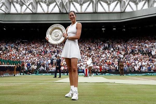 Muguruza vence a Venus Williams y gana Wimbledon