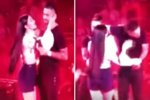 Maluma desprecia a fan durante concierto [VÍDEO]