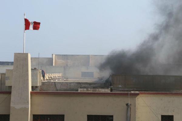 Maranguita: Motín e incendio en centro juvenil [FOTOS Y VÍDEO]