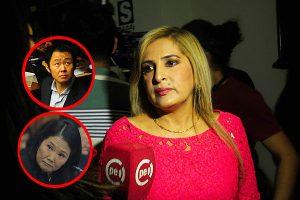 """Maritza García: """"Kenji Fujimori y Keiko pueden reconciliarse"""""""