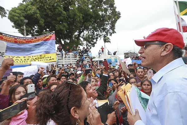 Martín Vizcarra: Ejecutivo podría recolectar firmas para referéndum