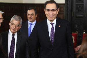 Martín Vizcarra reitera respaldo a César Villanueva y Vicente Zeballos