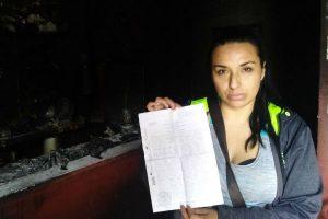 Dueña de restaurante incinerado denuncia a presuntos responsables