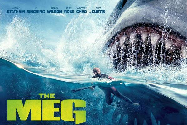 Película Megalodón lidera taquilla a nivel mundial