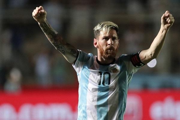 Argentina de la mano de Messi 3, Colombia 0