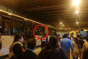 Metropolitano: Reportan emergencia en Estación Central