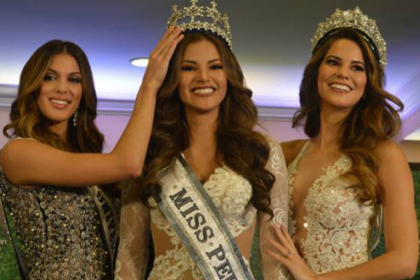 Priscila Howard coronada Miss Perú