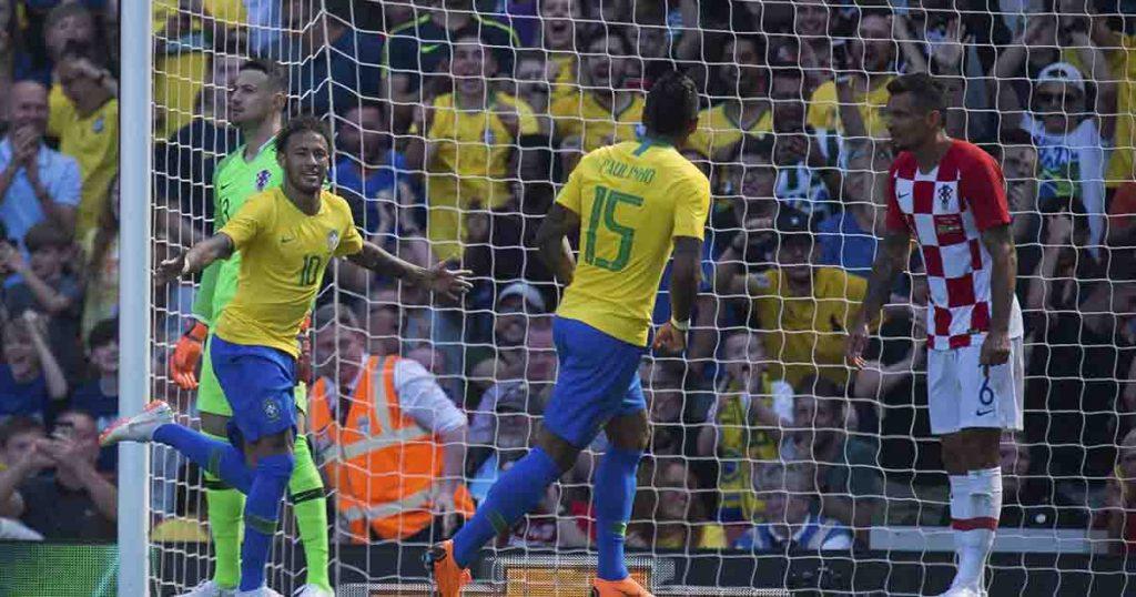 Rusia 2018: Brasil derrota a Croacia con gol de Neymar