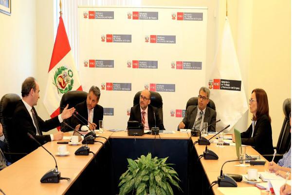 Ministerio de Trabajo: Perú presidirá consejo administrativo de OIT