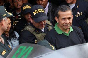 Congresistas en contra de excarcelar a Ollanta Humala