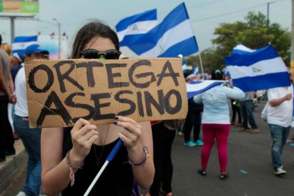 Nicaragua: Condenan a 216 años de cárcel a líder de protestas