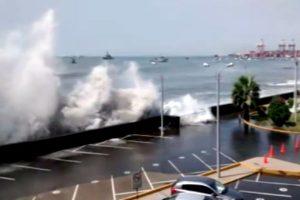 """""""Simulaciones en La Punta dan como resultado olas de 8 metros"""""""