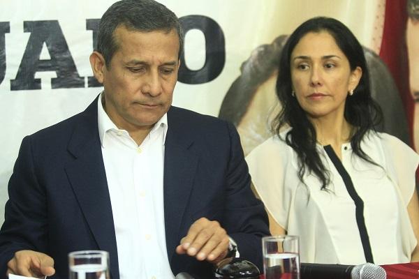 Fiscal de Perú acusará a Humala y Heredia por lavado activos