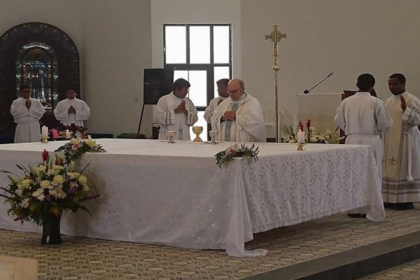 """Inauguran parroquia """"San Martín de Porres"""" en Oquendo-Callao"""