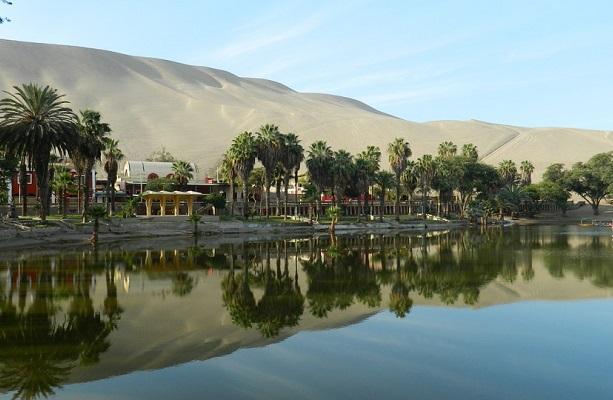 Perú. Ica. Huacachina el Oasis de América