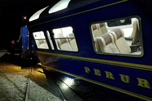 Machu Picchu: PeruRail descarta heridos en incidente con vagones