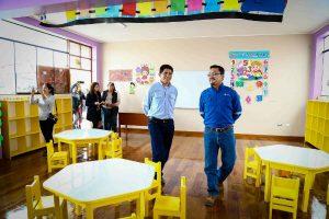 Pisco: más de mil estudiantes beneficiados por mejoras en colegio de Humay