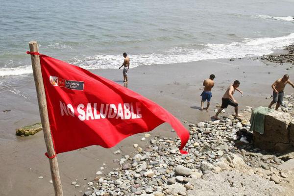 Digesa: solo 39 playas del país califican como saludables