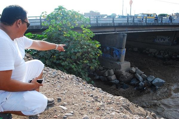 Puente Faucett tendría graves problemas de cimentación