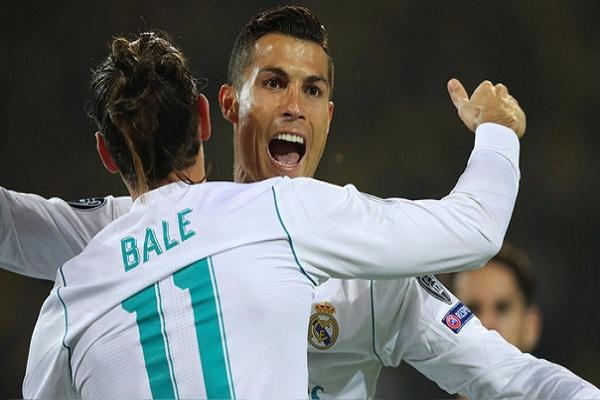 Real Madrid golea de visita al Borussia Dortmund: 3-1