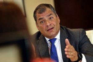 Rafael Correa: Jueza ordena prisión preventiva contra expresidente ecuatoriano
