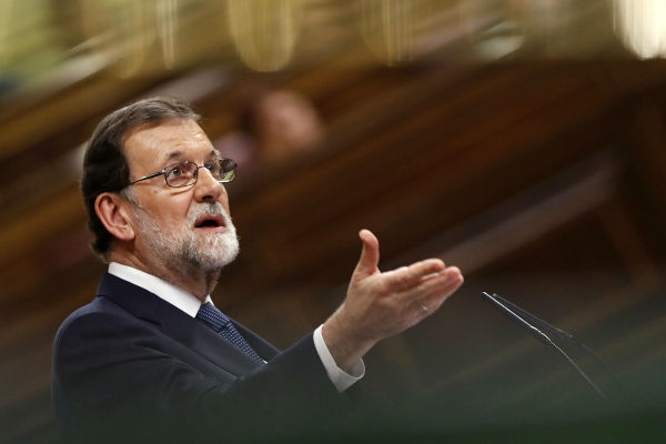 Rajoy esgrime artículo 155 de Constitución