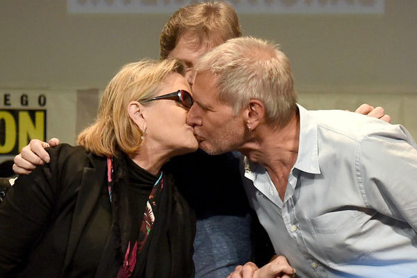 """Harrison Ford: Romance con Carrie """"fue extraño"""""""