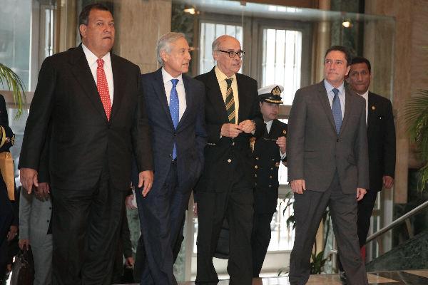Perú y Chile destacan alto nivel de diálogo en reunión «2+2»