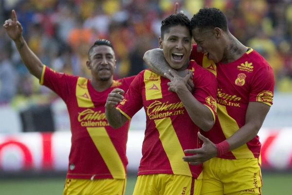 Ruidíaz regresa y anota en el empate del Morelia con el Necaxa (2-2)
