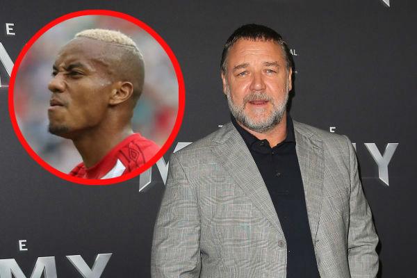 Russell Crowe felicita golazo de André Carrillo