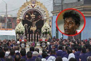 Miguel Araujo reza al Cristo Moreno para clasificar al Mundial
