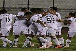 San Martín goleó 3-0 al Unión Comercio