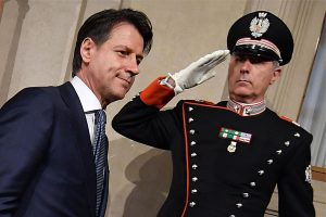 Giuseppe Conte será el  primer ministro de Italia