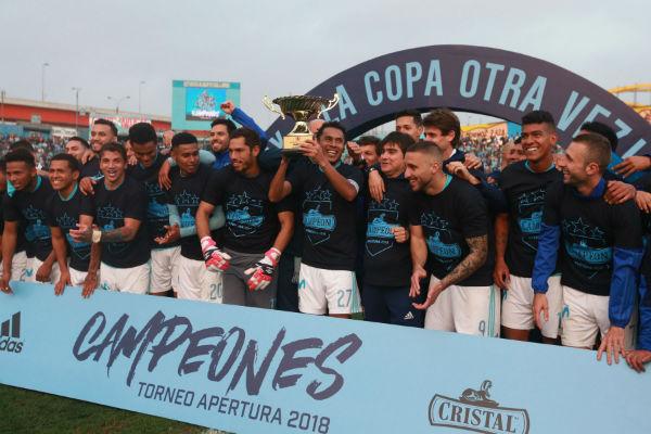 Sporting Cristal saca lustre al título del Apertura con triunfo ante el Sport Rosario (2-1)