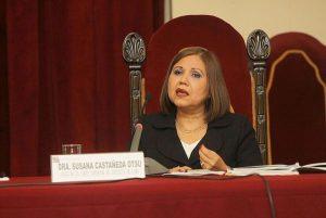 Susana Castañeda: Jueza sostiene que se deben acelerar las denuncias a corruptos