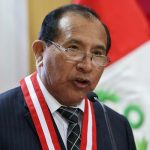 Presidente de JNE calla sobre Hinostroza